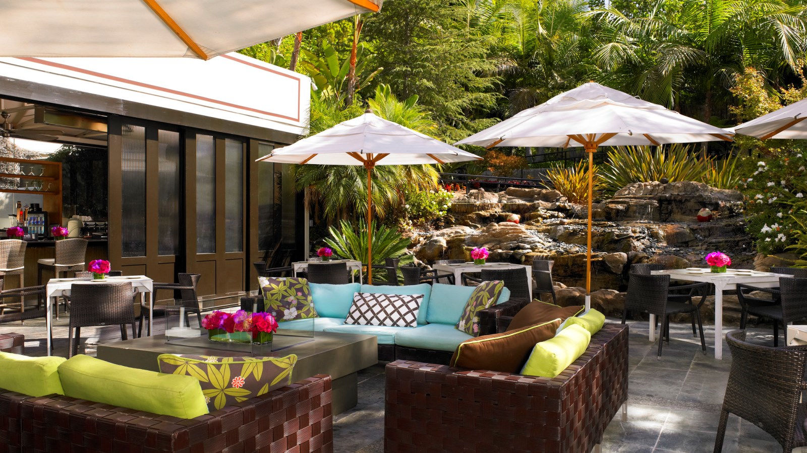 garden design garden design with the backyard restaurant los